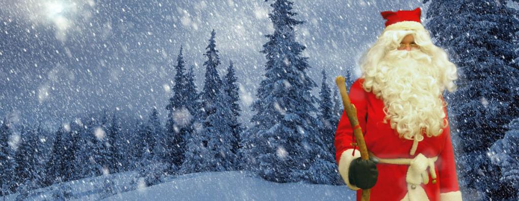 Partiolaisten Joulupukki ja Lumisade
